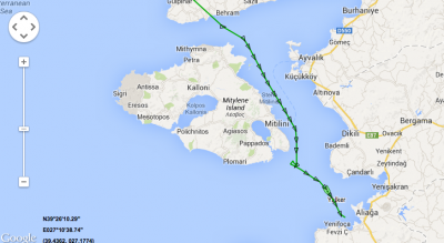 12 Syrians saved by cargo Yalker and fisher boat near Lesvos