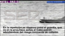 Guardia Civil runs over refugee boat near Lanzarote