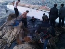 At least 12 people dead as inflatable boat sinks off the coast of Lefkada, Ionian Sea