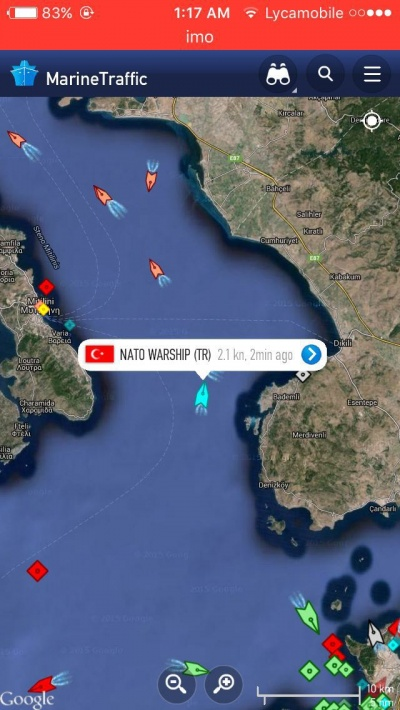 14/04: Alarm Phone alerted to boat intercepted by Turkish coastguard southeast of Lesvos, with NATO military vessel involved